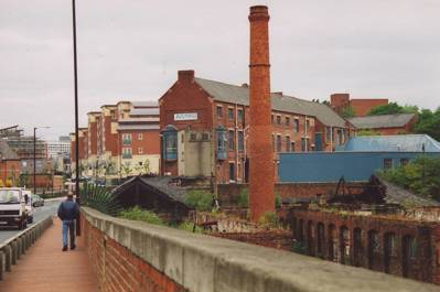 Toffee Factory after the fire