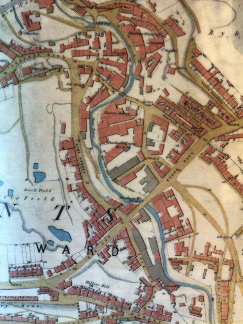 Map of Ouseburn in 1860