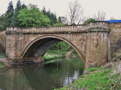 Photograph of Denwick Bridge in Alnwick