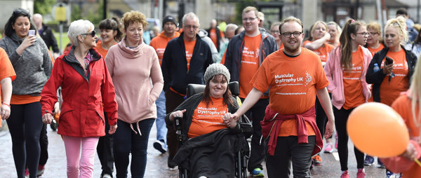 Muscular Dystrophy Walk