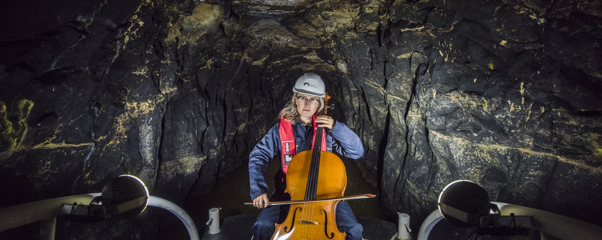 Maja bugge concert in cave