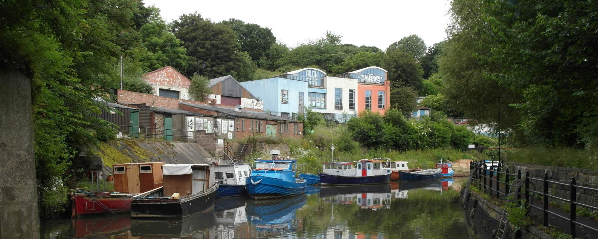 boats on ouseburn river