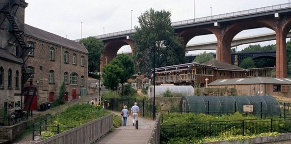 view of ouseburn valley