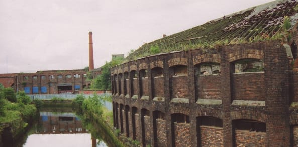 Ouseburn before regeneration