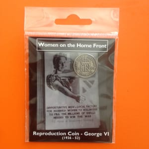 Women on the home front replica coin pack