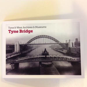 tyne bridge postcard book