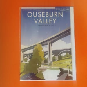 ouseburn valley greetings card