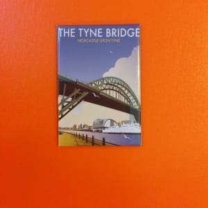 Magnet Tyne Bridge by Dave Thompson